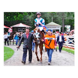 Caroline Thomas - Stakes Winning Filly Postcard