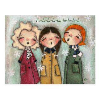 Caroling, Caroling - postal
