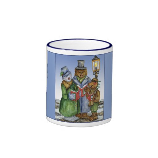 Caroling Cryptids Mug