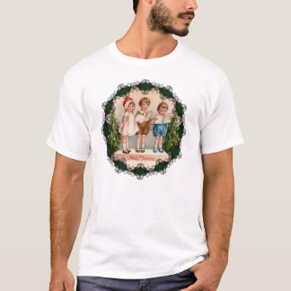Caroling Kids Merry Christmas Kids Shirt