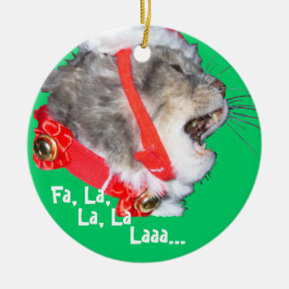 Caroling Maia Ceramic Ornament