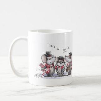 Caroling Mic, Mac & Moe Mug