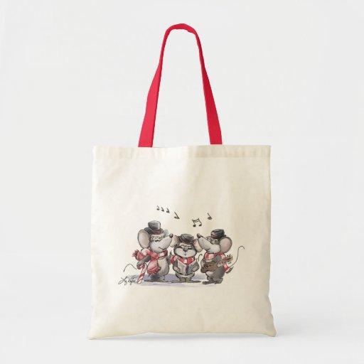 Caroling Mic, Mac & Moe Tote Bag