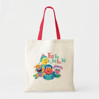 Caroling Sesame Street Tote Bag