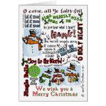 Caroling Snowmen Greeting Cards