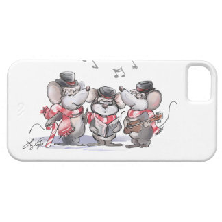 Caroling With Mic, Mac & Moe iPhone 5/5S Case