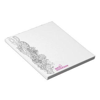 Carol's Doodles Notepad