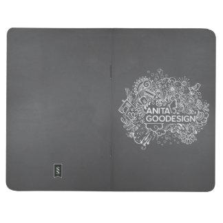 Carol's Doodles Pocket Journal (Black)