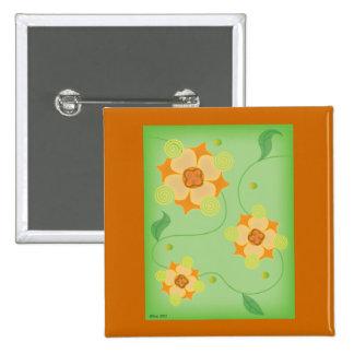 Carol's Flowers Pin