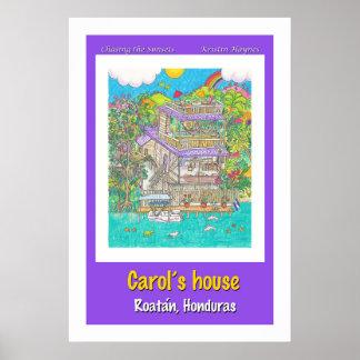 Carol's house poster
