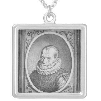 Carolus Clusius Square Pendant Necklace