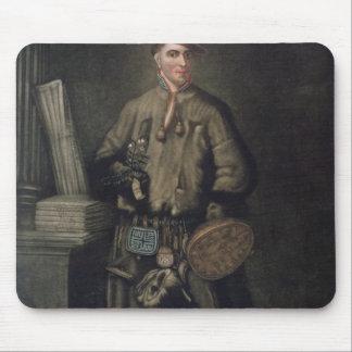 Carolus Linnaeus  in his Lapland Dress Mouse Pad