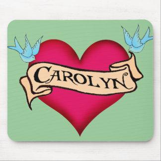 Carolyn - camisetas y regalos de encargo del tatua tapete de ratón