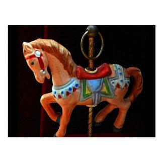 Carosel Horse Collection Postcard