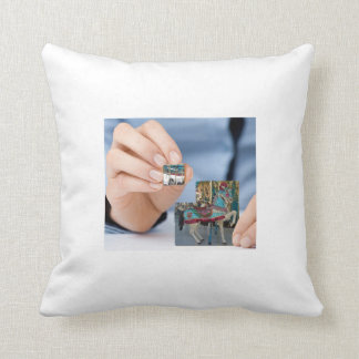 Carosel Horse Puzzle Pillow