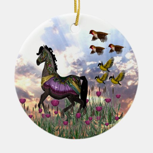 Carousal Horse Ornament