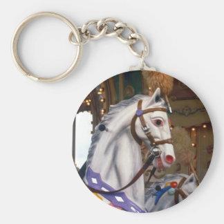 carousal pony keychain