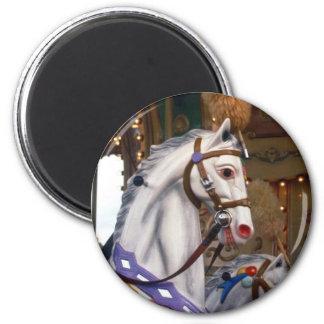 carousal pony 2 inch round magnet