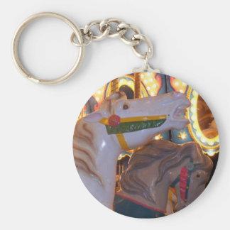 Carousal Steed Keychain