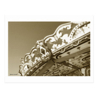 Carousel 10 Postcard