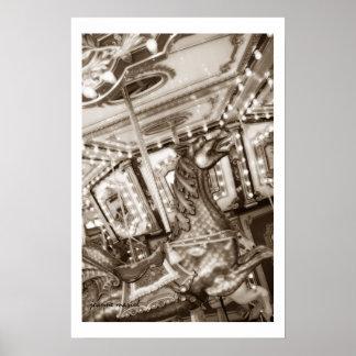 Carousel 17 Poster Print