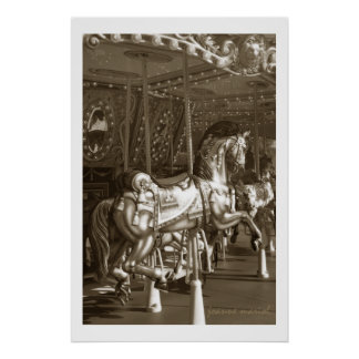 Carousel 23 Poster Print
