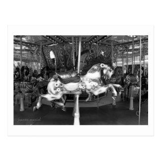 Carousel 28 Postcard