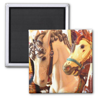 carousel 2 inch square magnet