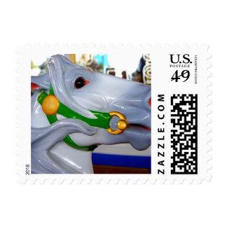 Carousel 2 postage stamp
