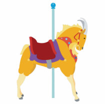 Carousel Animal Goat Cutout