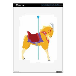 Carousel Animal Goat Skins For iPad 3