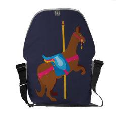 Carousel Animal Kangaroo Courier Bag