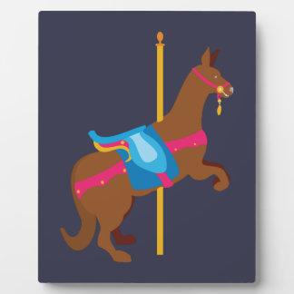 Carousel Animal Kangaroo Plaque