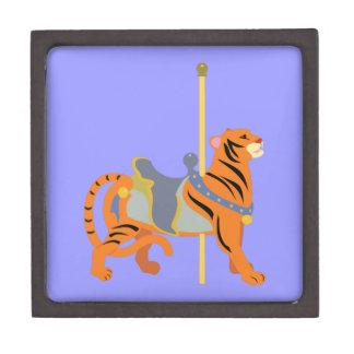 Carousel Animal Tiger Gift Box