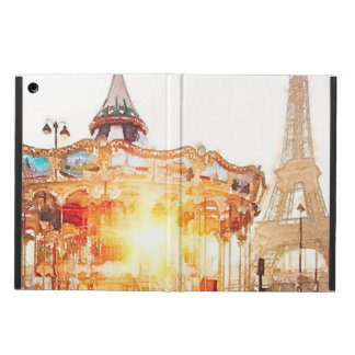 Carousel at the Eiffel Tower iPad Air Case