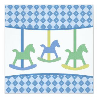 Carousel Baby Shower Invitation
