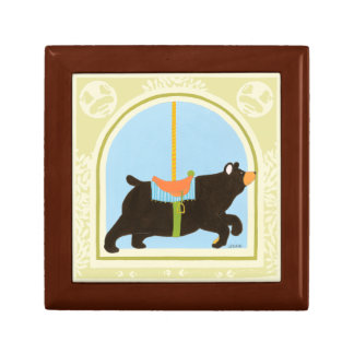 Carousel Bear by June Erica Vess Keepsake Box