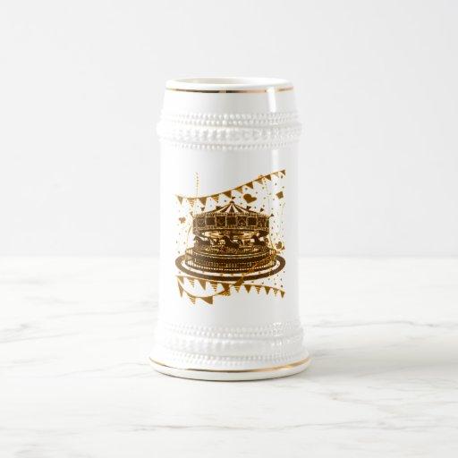 Carousel Beer Stein