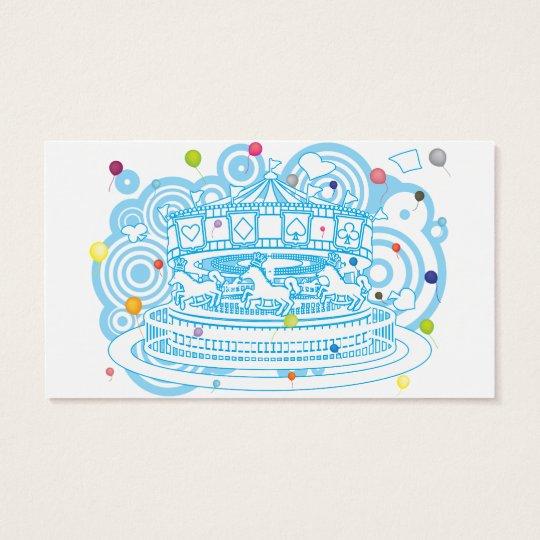 Carousel Business Card