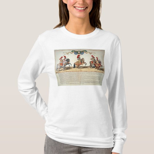 Carousel by Louis XIV  Front of Tuileries T-Shirt