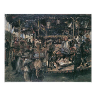 Carousel by Lovis Corinth Poster