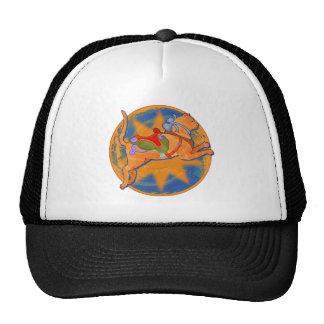 Carousel Cat Trucker Hat