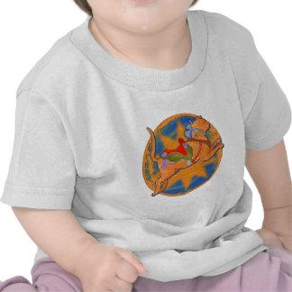 Carousel Cat Tee Shirt