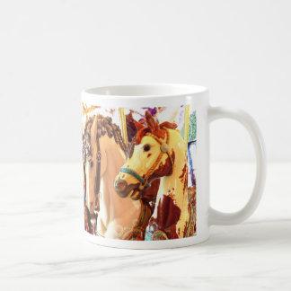 carousel classic white coffee mug
