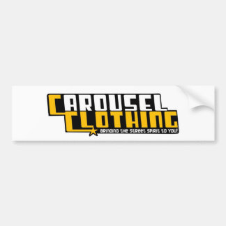 Carousel Clothing Bumper Sticker