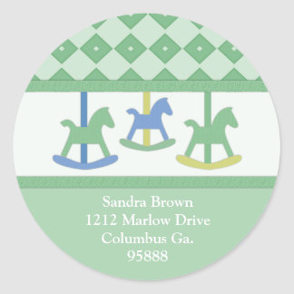 Carousel Collection Address Stickers