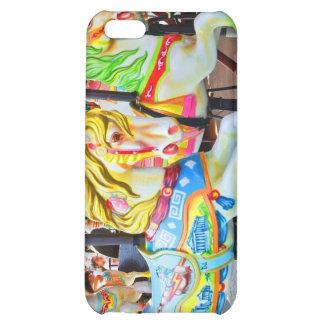 Carousel - Coney Island, NYC iphone 4 case