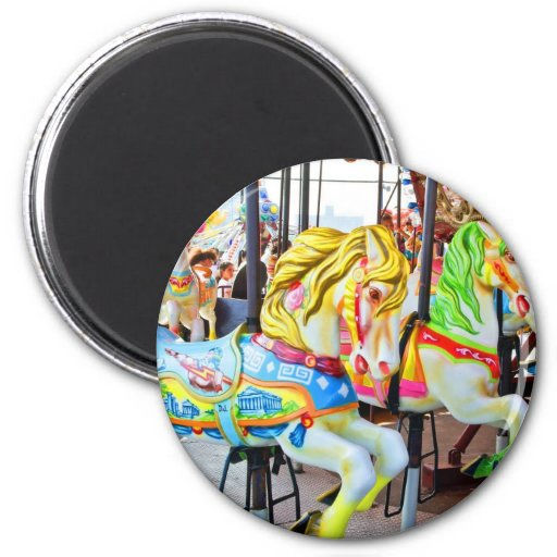 Carousel - Coney Island, NYC magnet