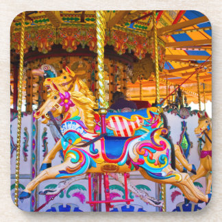 Carousel Cork Coasters