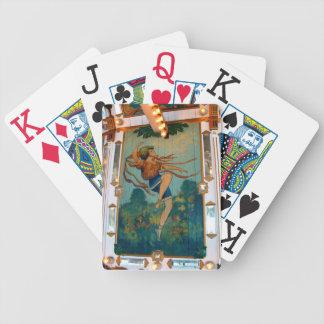 Carousel Dancing Girl Bicycle Playing Cards